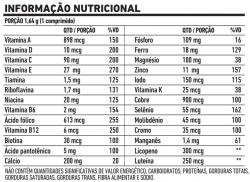 Polivitamínico All  Nutri Plus  - 140 comprimidos