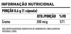 Picolinato de Cromo 200mcg  - 60 comprimidos